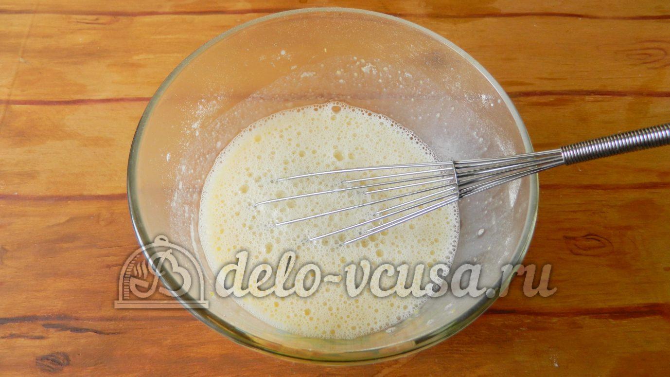Торт из блинчиков с заварным кремом пошаговый рецепт