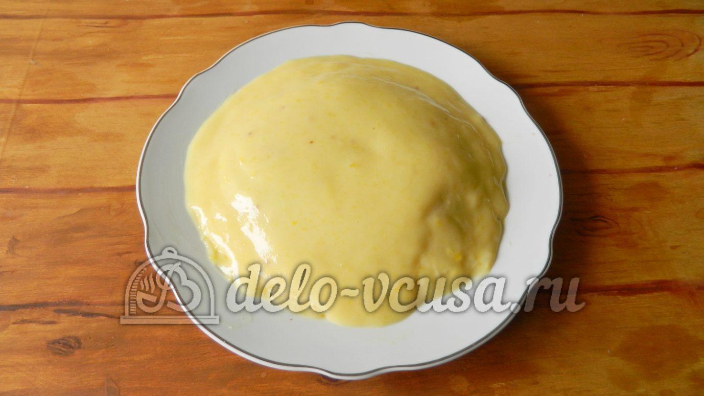 Рецепт блинного торта с пошагово с заварным кремом
