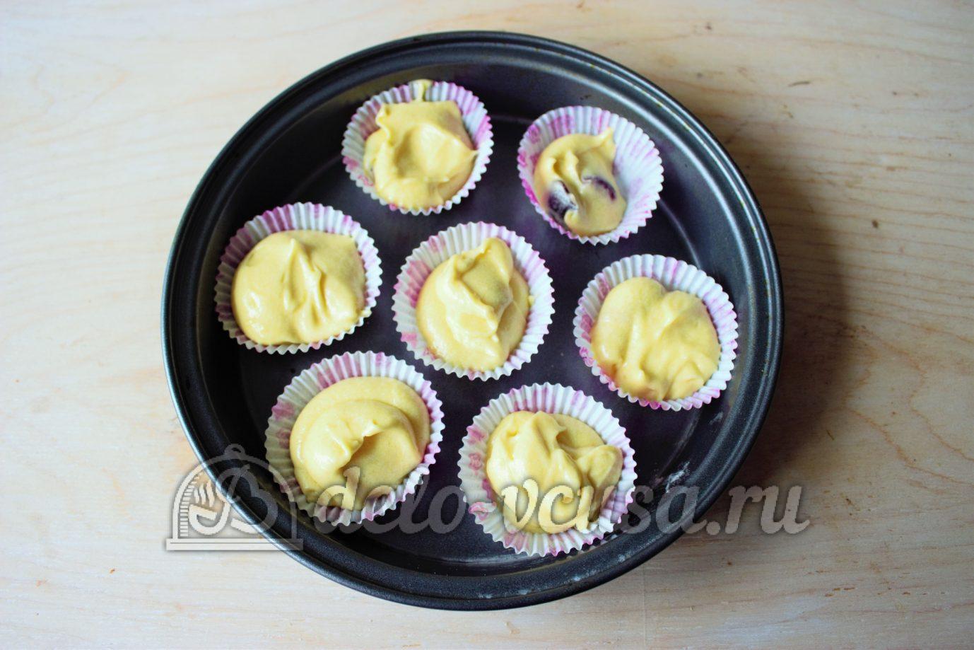 Кексы рецепты пошагово в формочках с майонезом