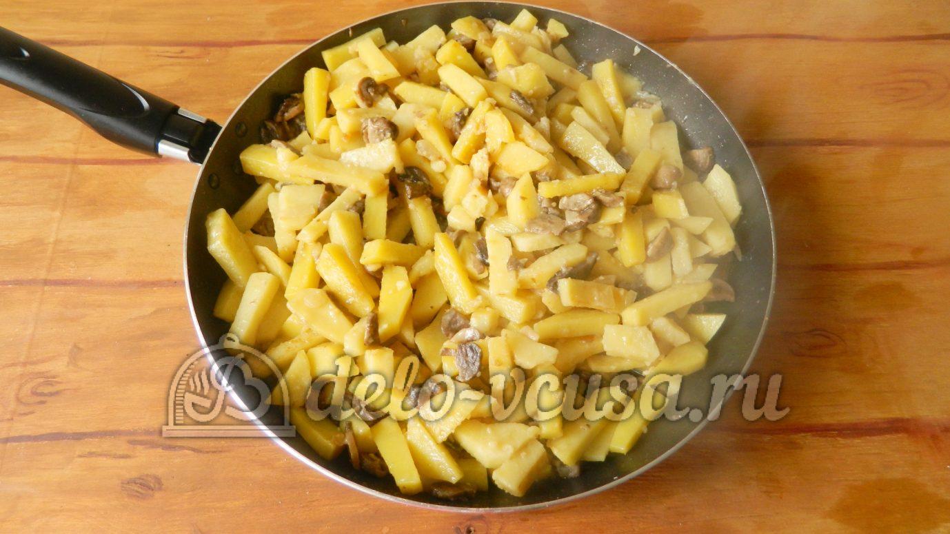 Как жарить картошку пошаговое