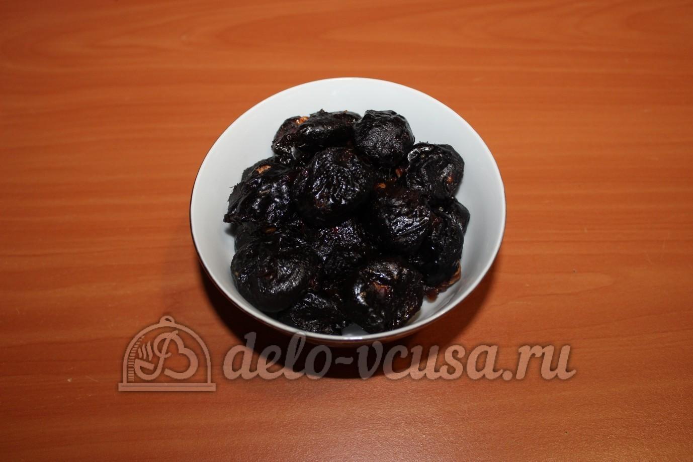 Чернослив с орехами и сгущенкой с фото