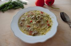 Суп-лапша с мясом
