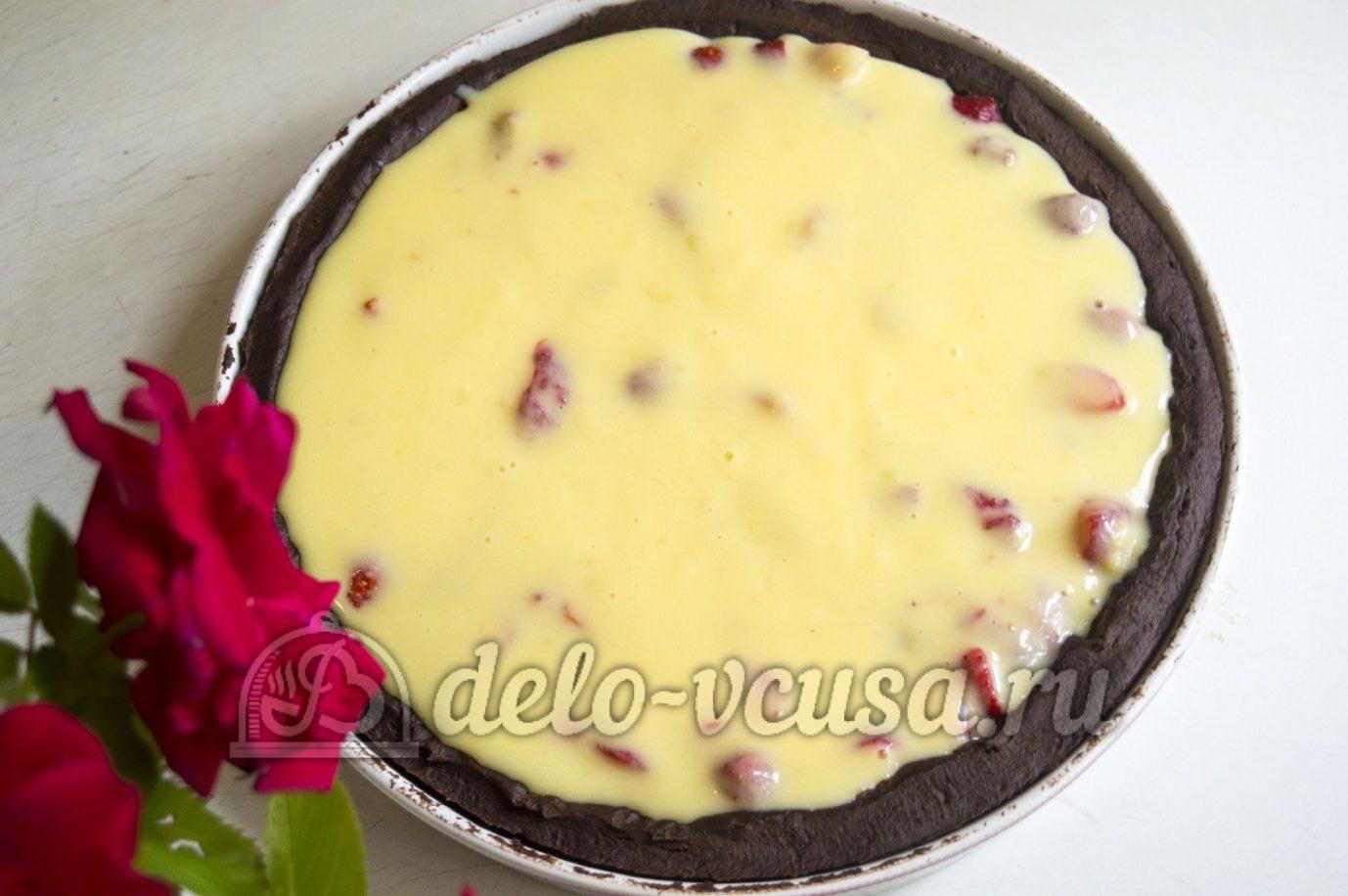 Песочный ягодный пирог рецепт пошагово в духовке