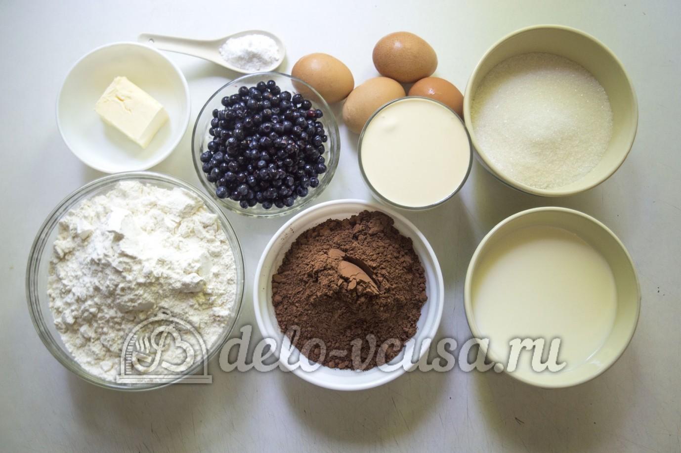 Торт с черникой рецепт пошагово