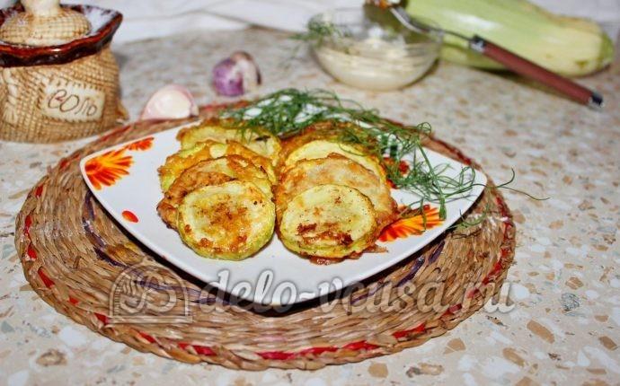 рецепты жарки кабачков фото