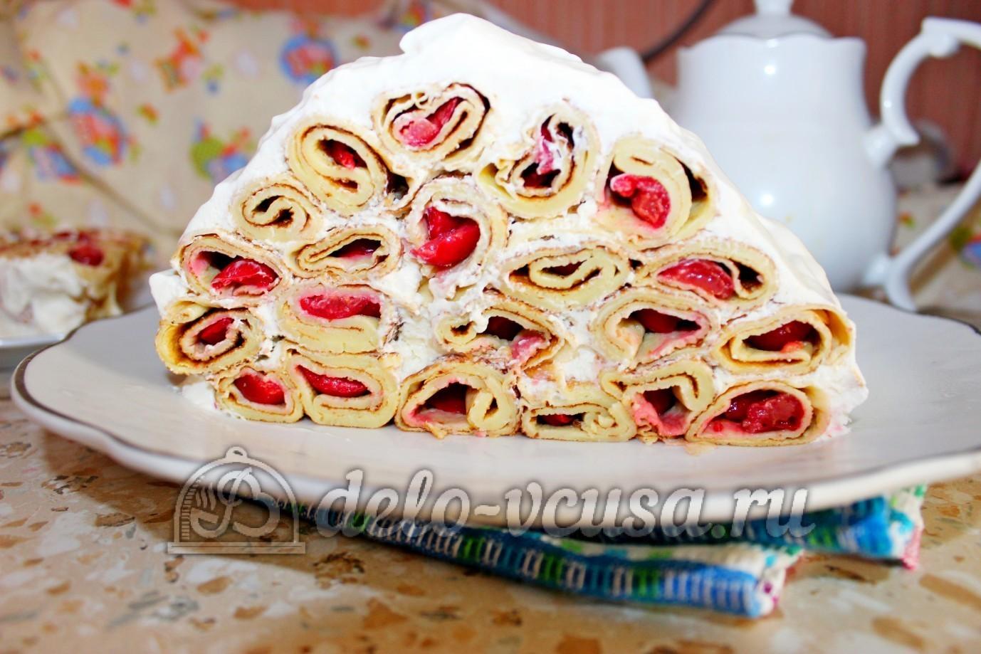 Торт монастырская изба рецепт без сметаны