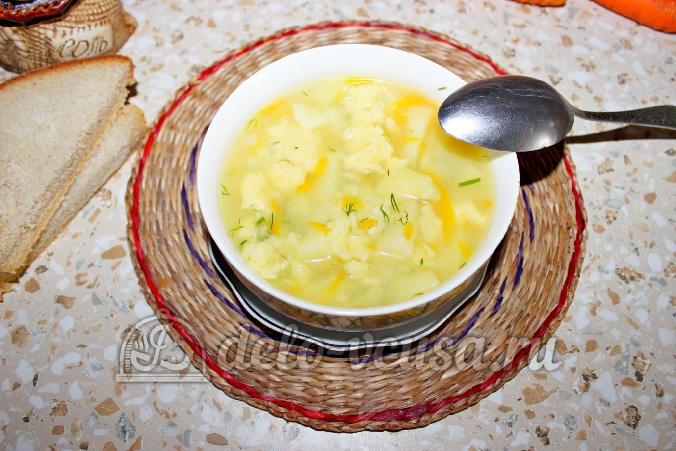 Суп с клёцками пошаговый рецепт из свинины