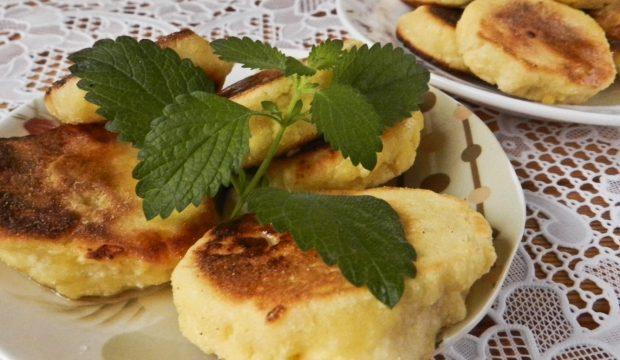 Сырники из творога и кукурузной муки рецепт пошагово