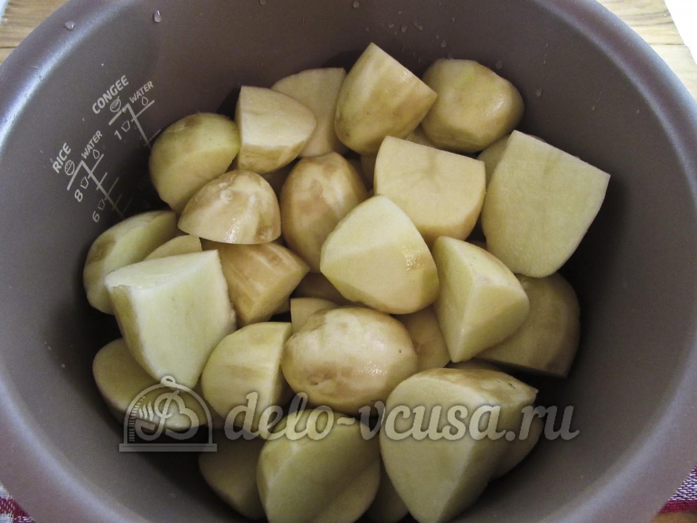 Рецепт картошки в мультиварке пошагово