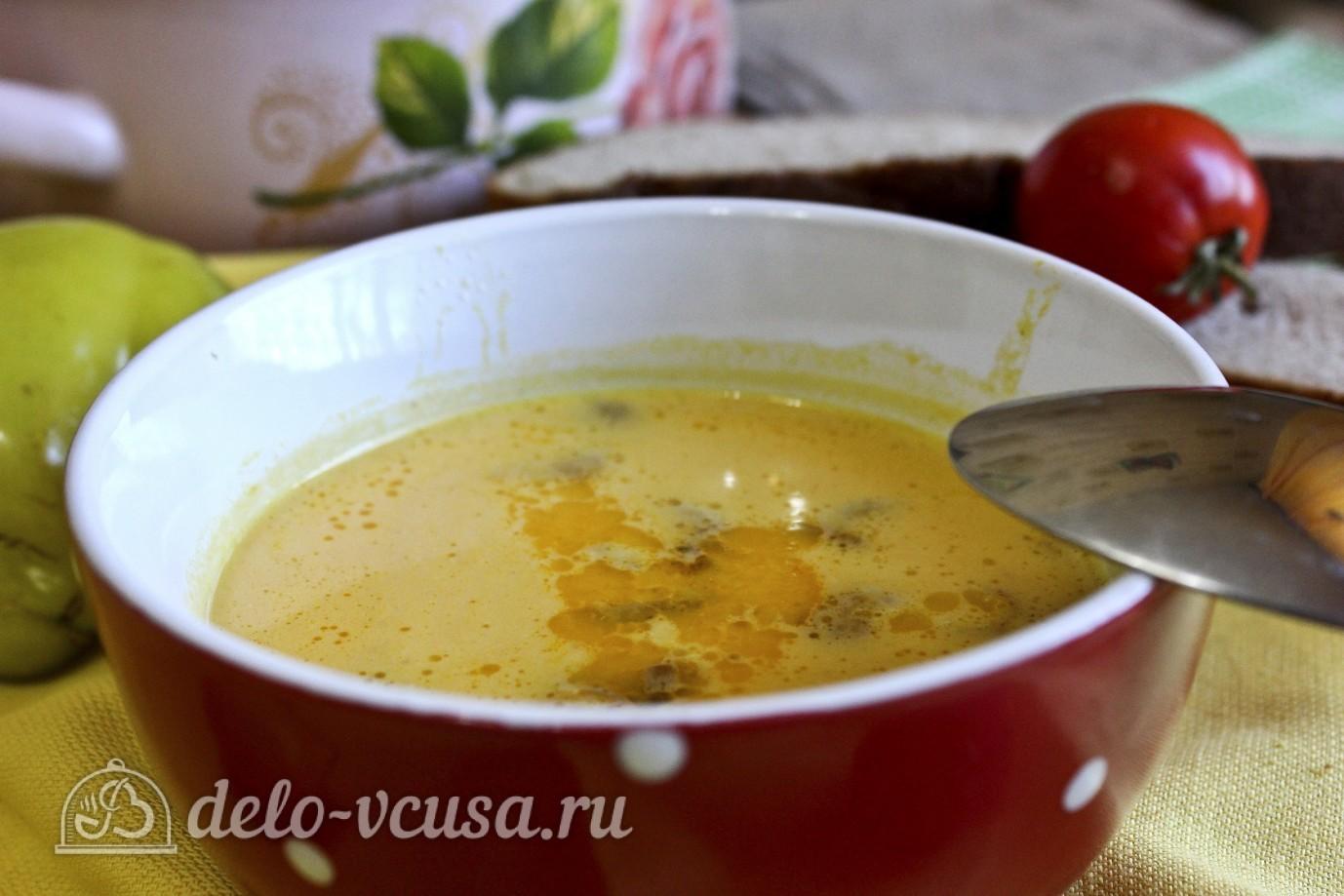 Суп пюре из тыквы пошаговый рецепт с фото