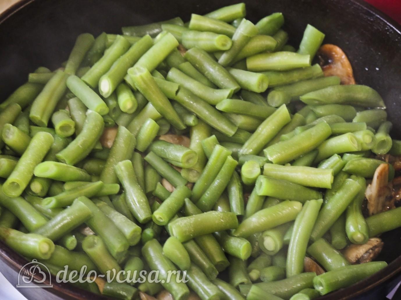 Пошаговые рецепты с спаржевой фасолью