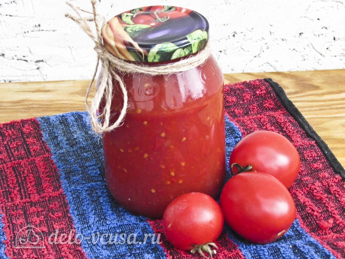 Кетчуп из томатного сока своими руками