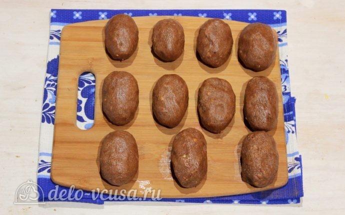 Картошка из печенья пошагово