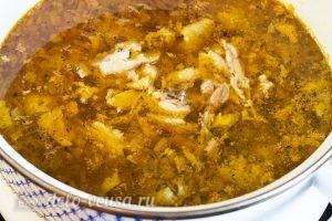 Готовить куриные супыы