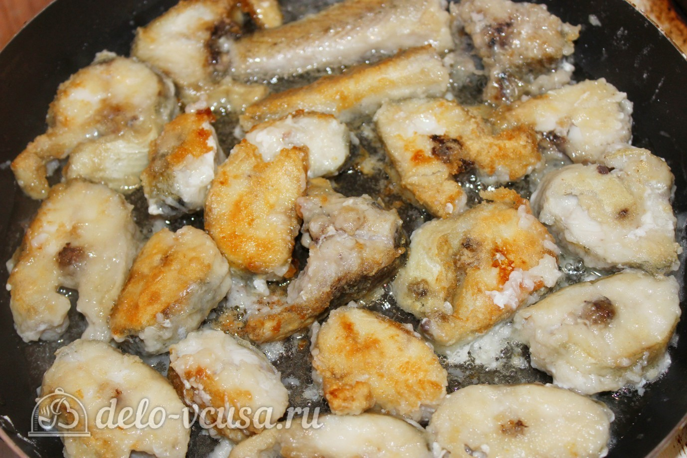 Как готовить минтай на сковороде фото рецепт пошаговый