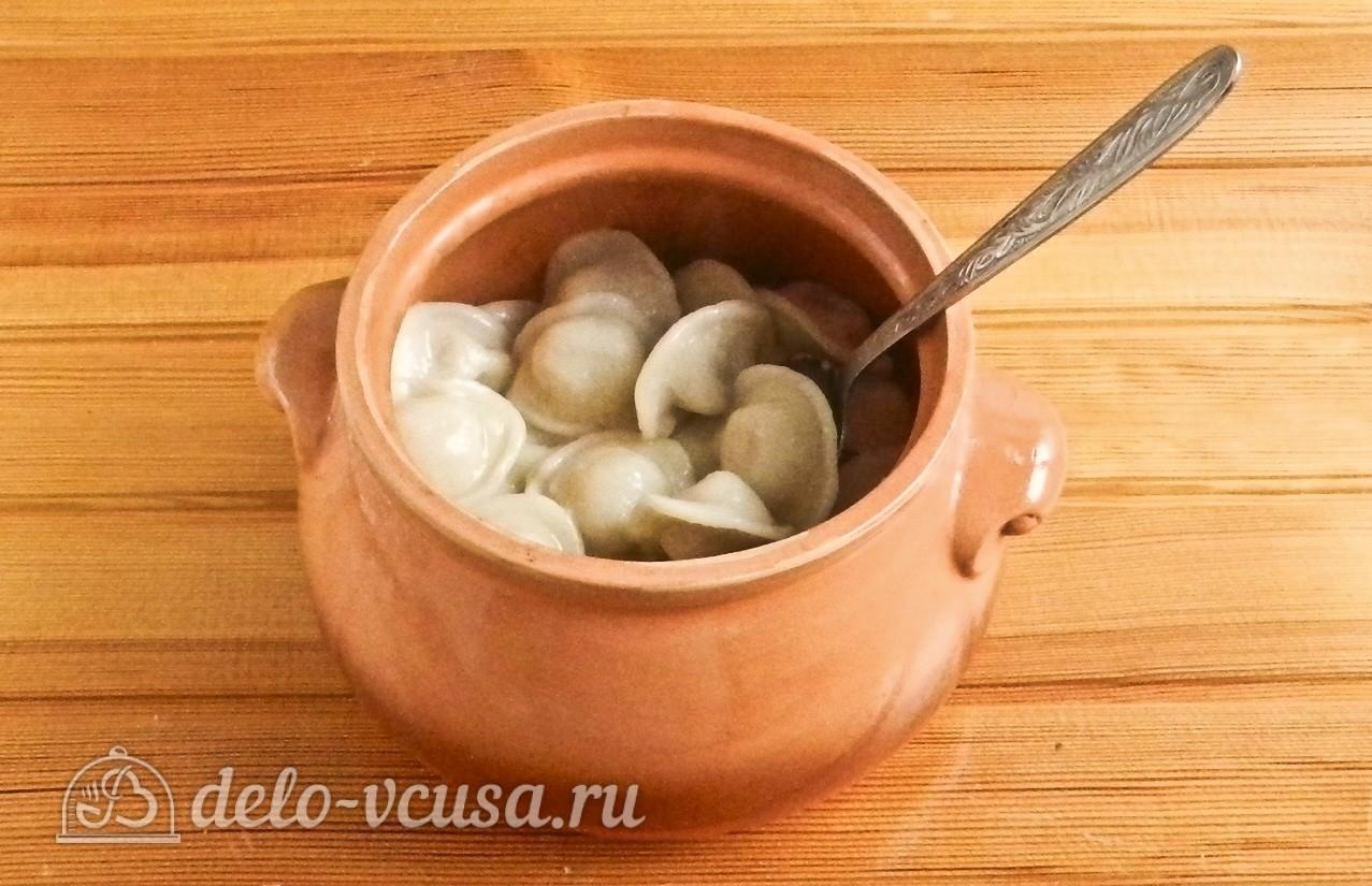 Пельмени в горшочках рецепты пошагово