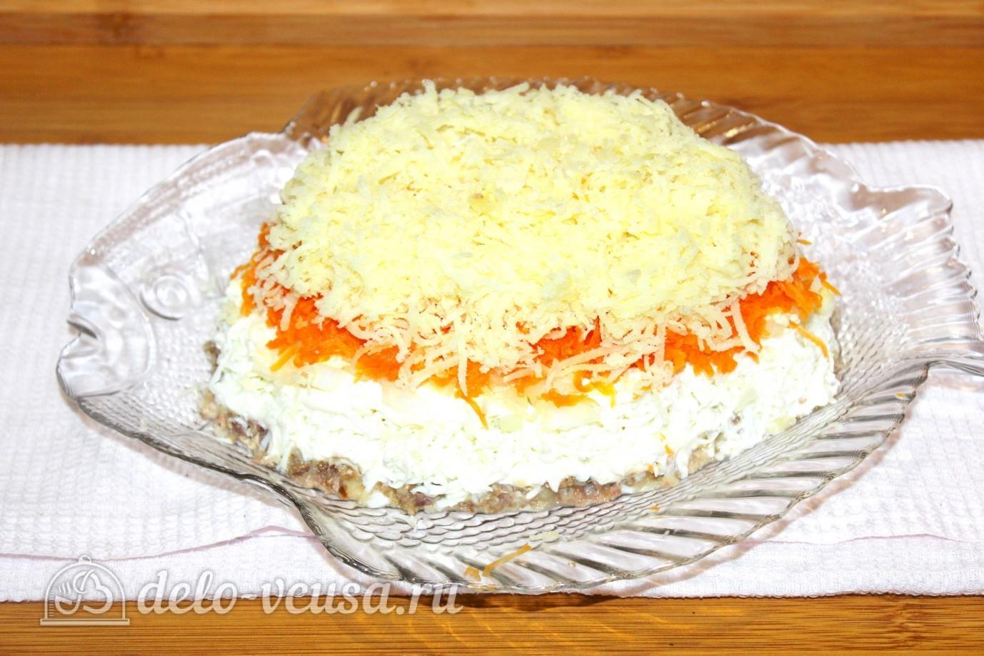 Картофельный салат классический рецепт с пошагово