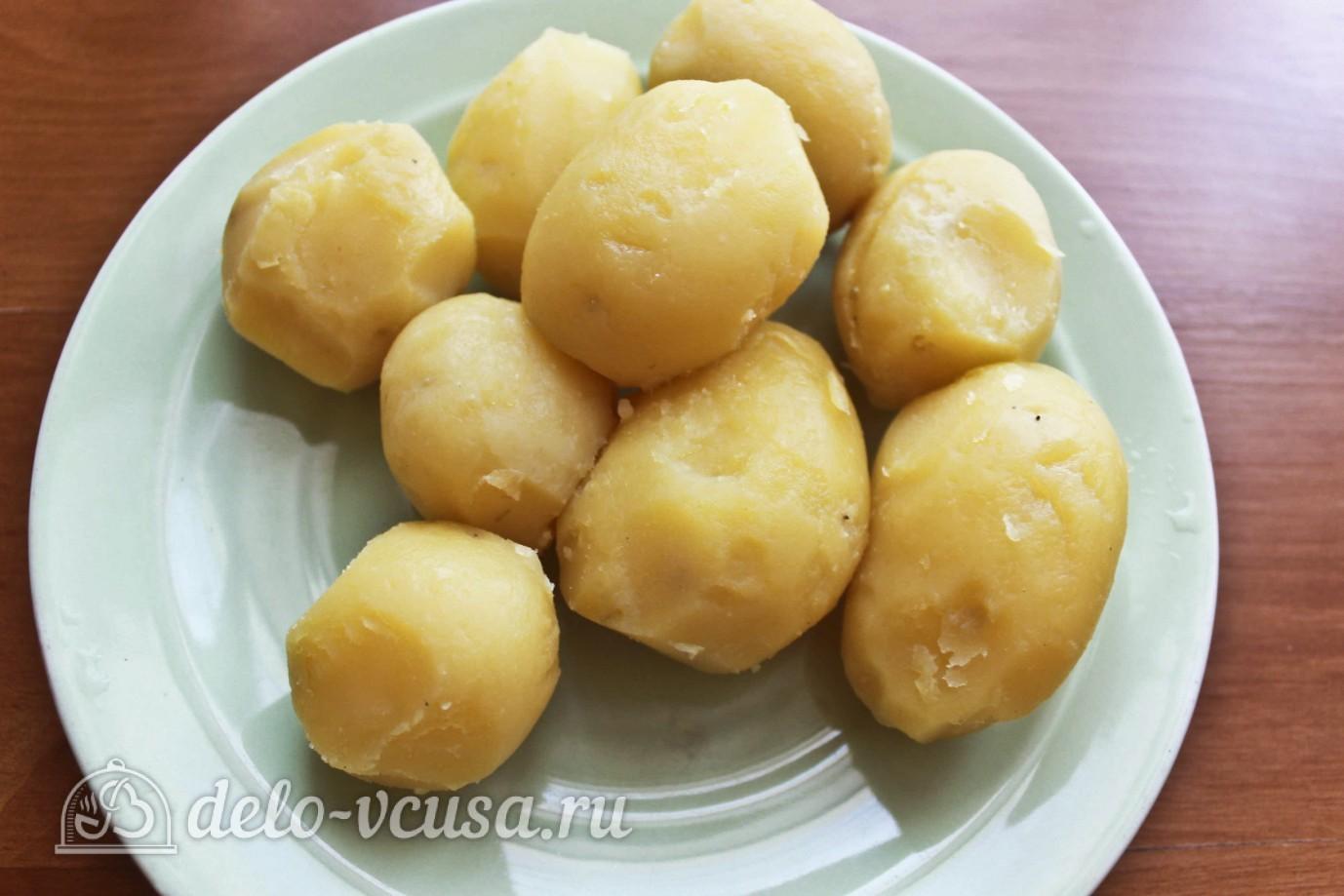 Рецепт картофельных клецок