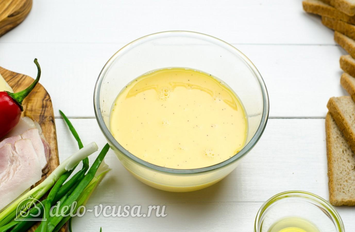 Как сделать омлет с молоком на сковороде рецепт с пошагово