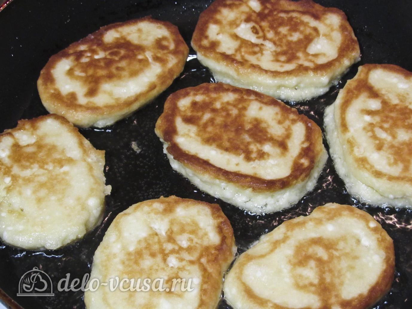 Сырники с манкой пошагово