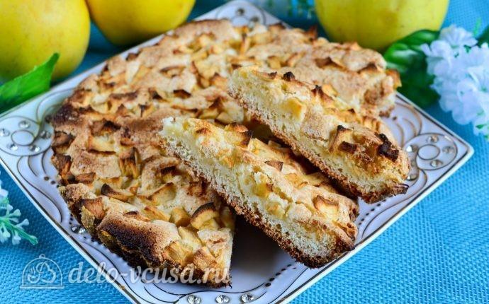 Рецепт яблочного пирога быстрого