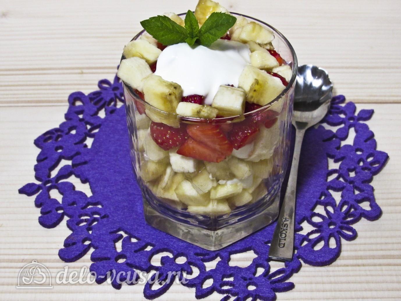 Йогуртовая заправка для салатов рецепт пошагово в