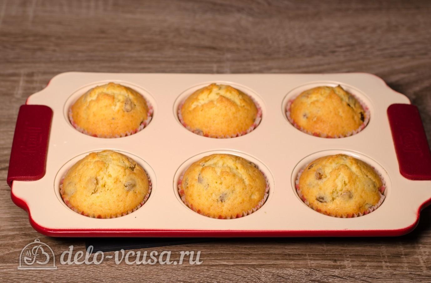Кексы с изюмом рецепты простые в формочках пошаговый рецепт