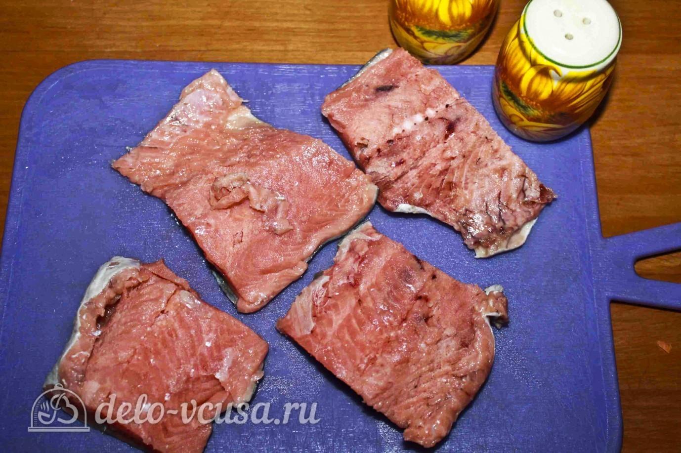 Как приготовить кижуча в духовке в фольге рецепт