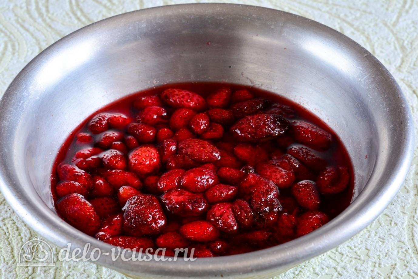Варенье из клубники с целыми ягодами густое рецепт пошагово