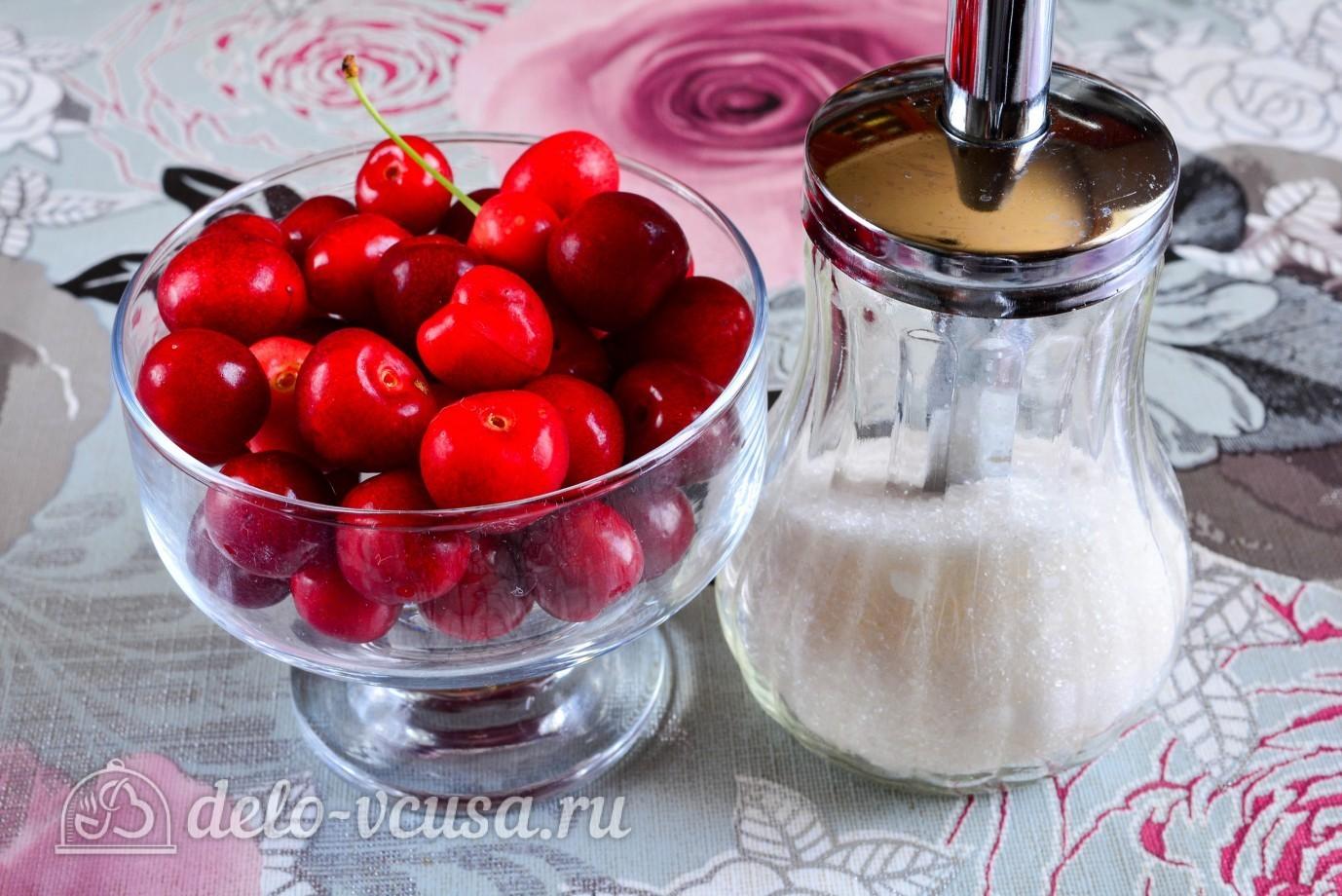 Варенье из белой черешни с косточкой рецепт пошагово
