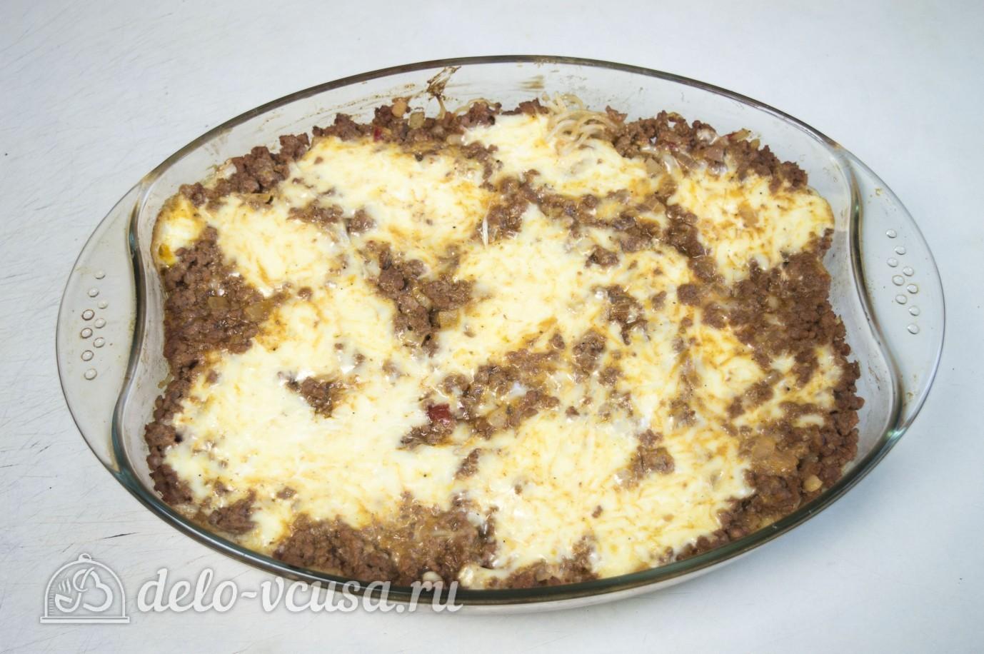 Запеканка с макаронами и яйцами в духовке рецепт пошагово
