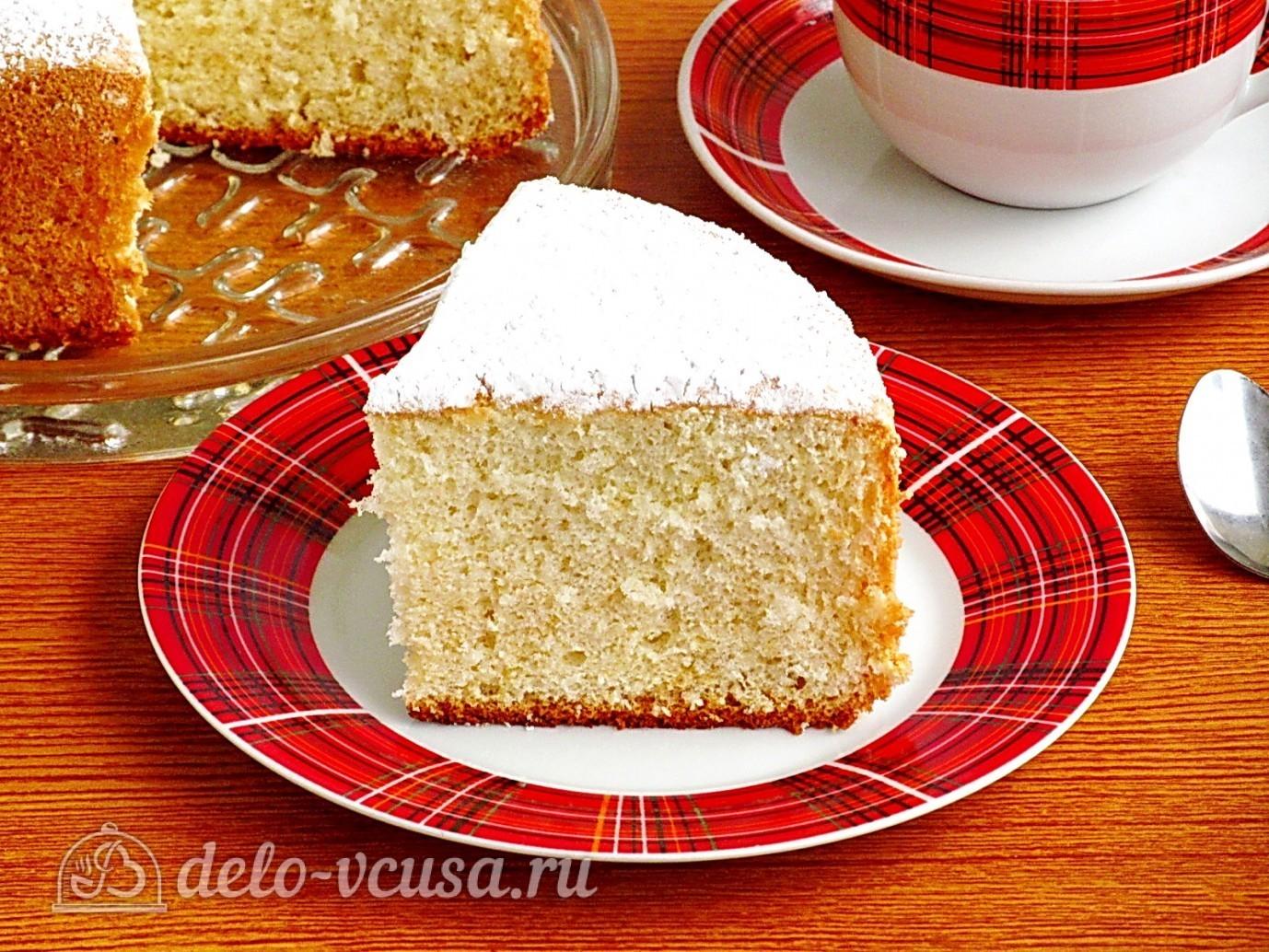 Фото рецепт коржей для торта