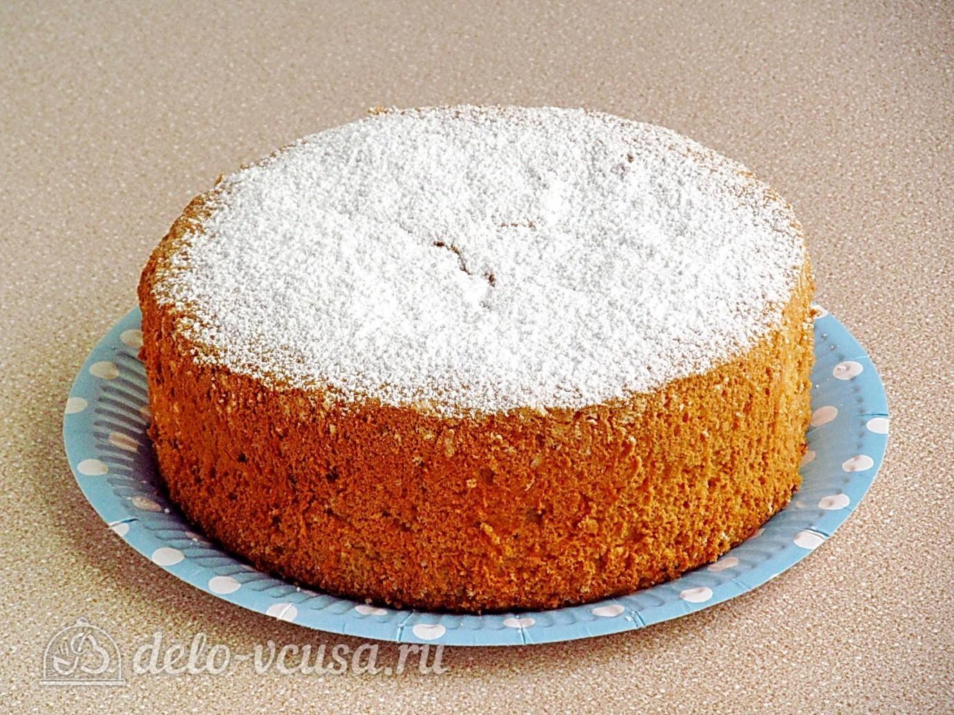 Рецепты приготовления бисквитных коржей для тортов