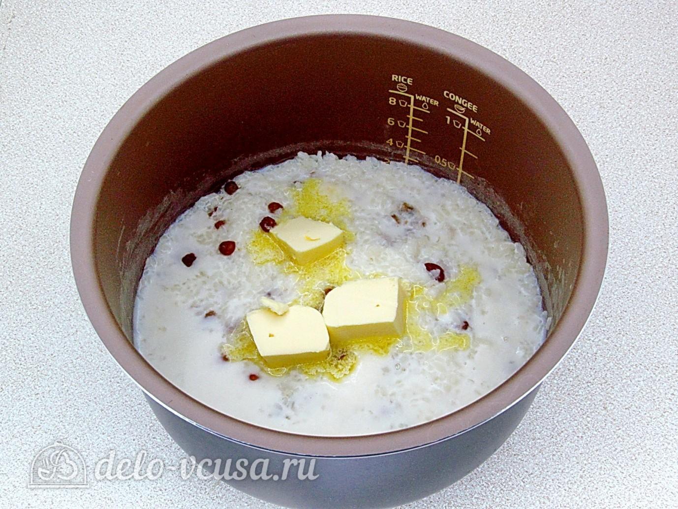 Каша рисовая с изюмом на молоке рецепт пошагово