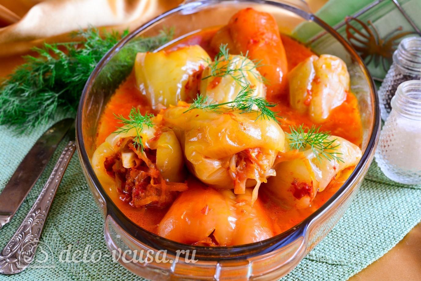 Начиненный перец рецепт пошагово