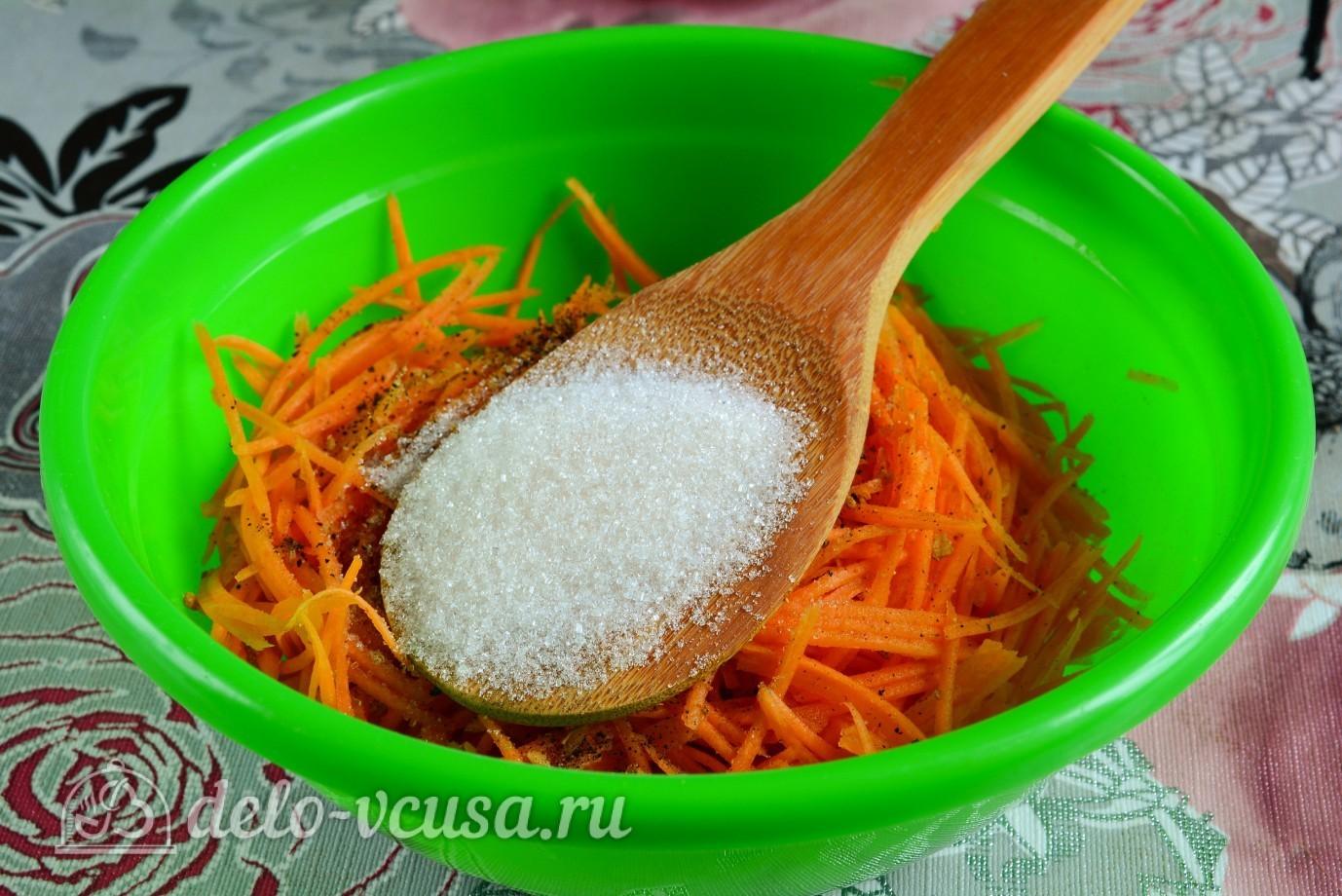 Морковь по-корейски сладкая в домашних условиях рецепт фото