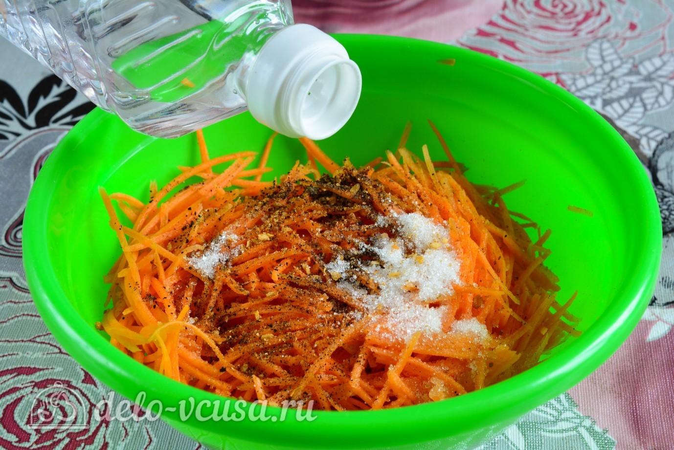 Морковка по корейски пошаговый фото рецепт