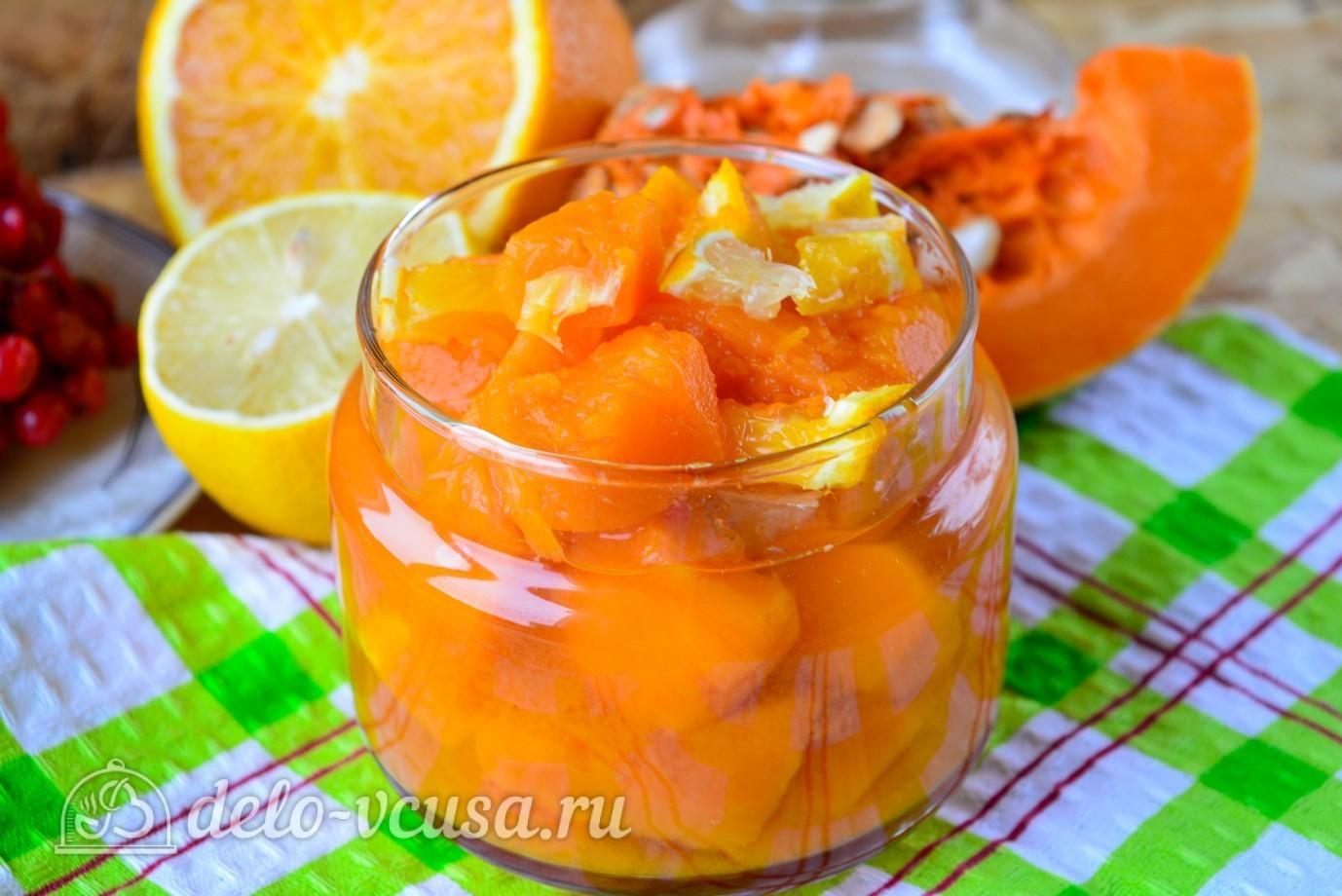 Джем из тыквы с апельсином и лимоном рецепт пошагово в духовке