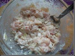 Жареная картошка с куриным филе: фото к шагу 5.