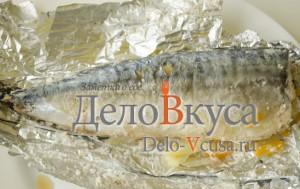Скумбрия в фольге в духовке: Запекаем рыбу