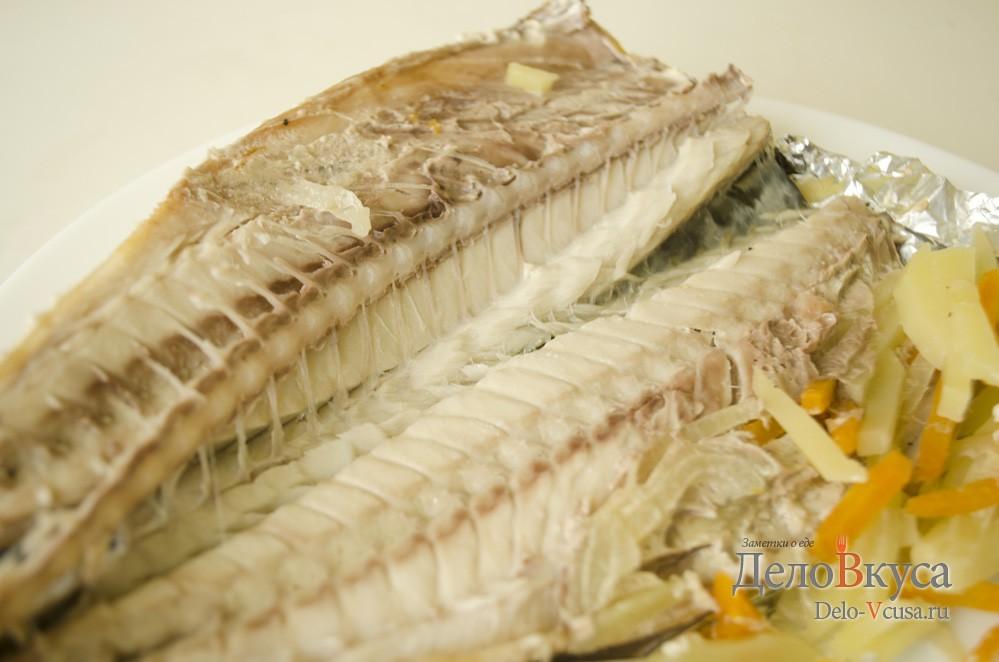 скумбрия запеченная в духовке рецепт с фото в фольге