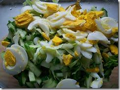 Салат из свежей капусты: Все перемешать