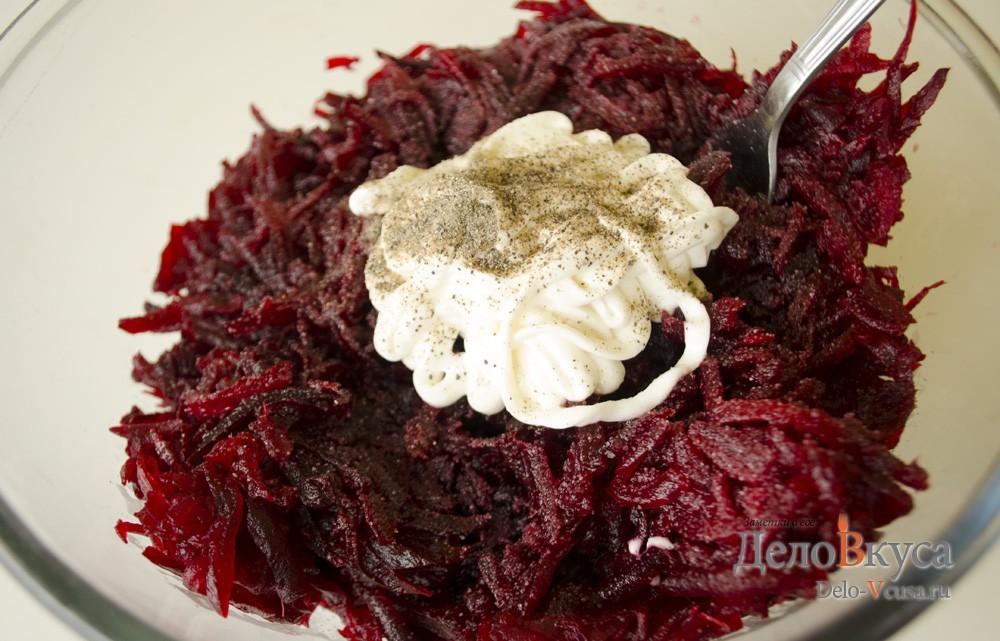 Салат из не вареной свеклы рецепт с очень вкусный