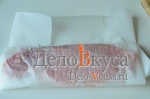 Отбивные из свинины: Мясо завернуть в пленку