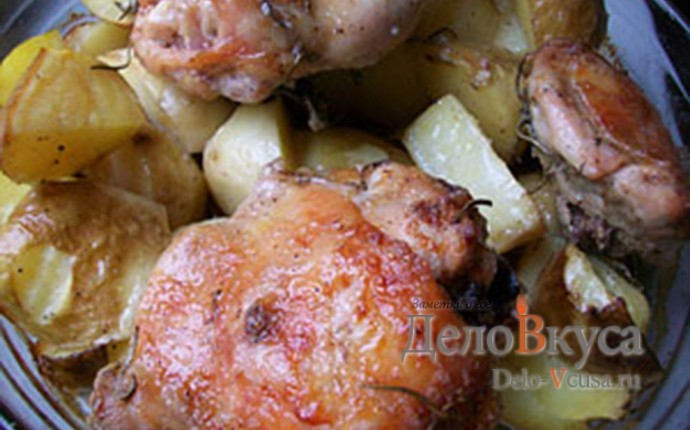 Маринованная курица в майонезе в духовке рецепт