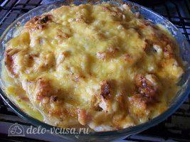 Картофельная запеканка с курицей и сыром (по-французски): фото к шагу 16