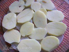 Картофельная запеканка с курицей и сыром (по-французски): фото к шагу 10