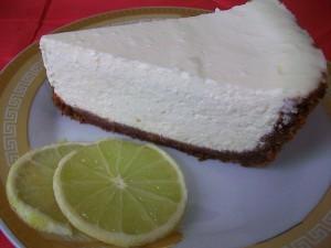 Чизкейк с лаймом. Творожный пирог с лаймом: фото к шагу 17