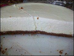 Чизкейк с лаймом. Творожный пирог с лаймом: фото к шагу 16