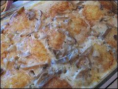 Картофельные драники с мясом под грибным соусом. Колдуны с мясом под соусом из сметаны и грибов. Деруны с мясом: фото к шагу 22.